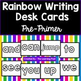 Rainbow Writing Cards