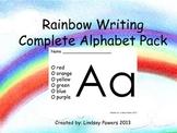 Rainbow Writing: Complete Alphabet Pack