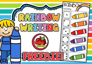 Rainbow Writing FREEBIE