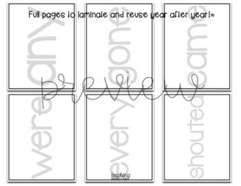 Rainbow Writing: Grade One Sight Words Activity