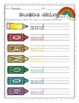 Rainbow Writing Grade 1 Trick Words