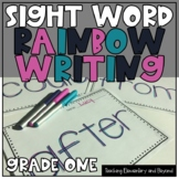 Rainbow Writing: Kindergarten Sight Word Activity
