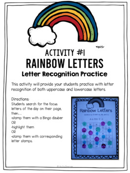 Rainbow writing by anita bremer teachers pay teachers rainbow writing sciox Image collections