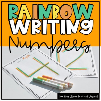 Rainbow Writing: Numbers 0-200