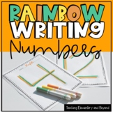 Rainbow Writing: Numbers 0-200 Activity