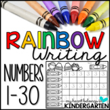Number Writing (Rainbow Writing)