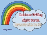 Rainbow Writing Sight Word Booklet (Pre-Primer)