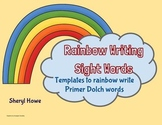 Rainbow Writing Sight Word Booklet (Primer)