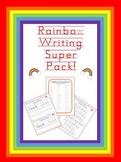 Rainbow Writing Sight Words!