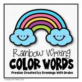 Rainbow Writing Templates (Freebie)