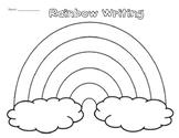 Rainbow Writing Worksheet