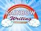 Rainbow Writing Workshop Powerpoint
