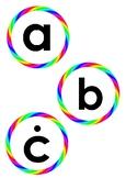 Rainbow alphabet - Maltese