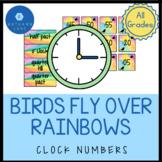 Rainbow and Bird Classroom Theme with Rainbow Classroom De