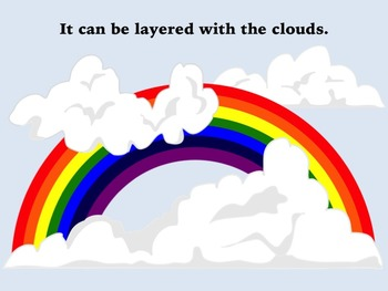 7 Color Rainbow Clip Art