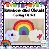 Rainbow and Clouds Craft: Spring: Weather