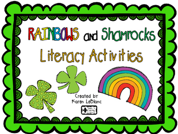 Rainbow and Shamrocks Literacy Activities
