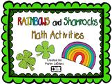 Rainbow and Shamrocks Math Activities