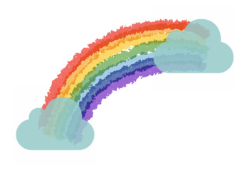 Rainbow clipart .png FREE!