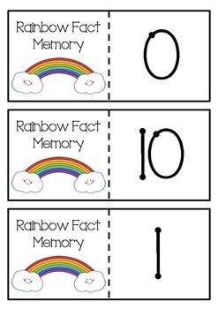 Rainbow fact memory