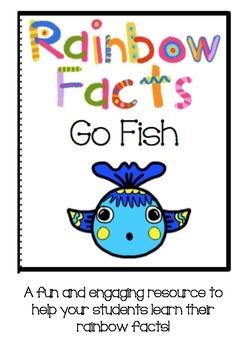 Rainbow fact (Make 10) Go fish!