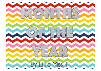 Rainbow/glitter months of the year