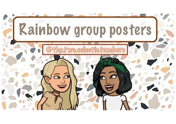 Rainbow group posters