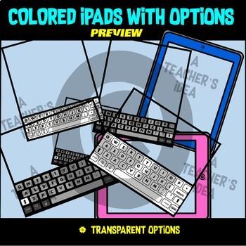 iPad / Tablet Clip Art for Teachers BUNDLE