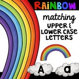 Rainbow matching upper and lower case letters