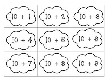 Rainbow math-Decomposing numbers 11-20