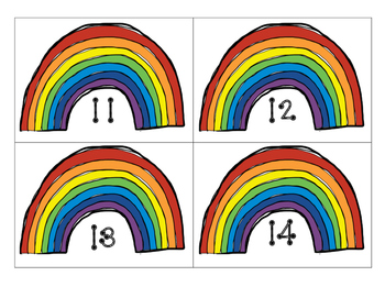 Rainbow math-Decomposing numbers 11-20