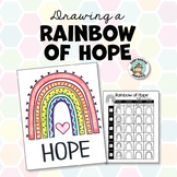 Rainbow of Hope Drawing & Distance Learning Instructions