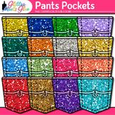Pants Pocket Clip Art: Classroom Pocket Chart Graphics {Glitter Meets Glue}