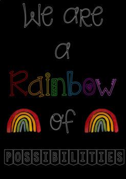 Rainbow of Possibilities Door Display