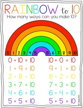 Rainbow to 10 {FREEBIE}