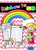 Rainbow to 10 - Rainbow Facts to 10
