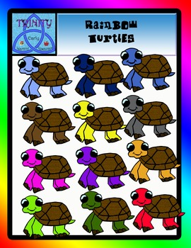Rainbow turtles