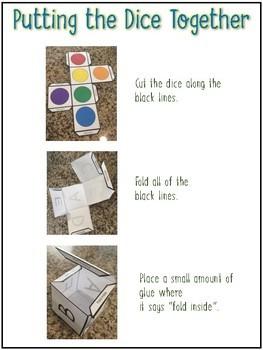 Rainbow write letters & numbers