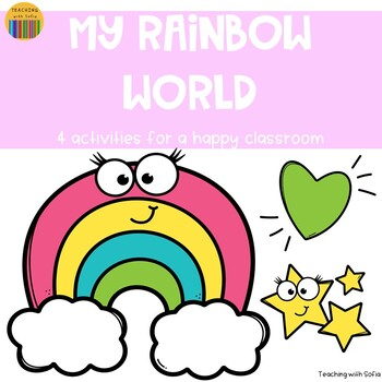 Rainbows - 4 activities for a happy classroom