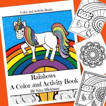 Rainbows Coloring and Activity Book