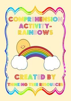 Rainbows Comprehension Activity