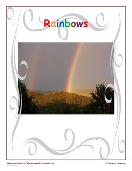 Rainbows - Differentiated Blooms Enrichment Unit