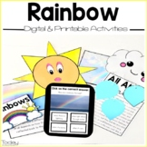 Rainbows Digital and Printables Resource (Distance Learning)