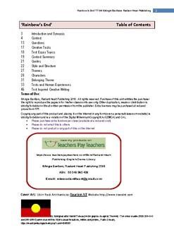 Rainbow's End -Jane Harrison Teacher Text Guide & Worksheets
