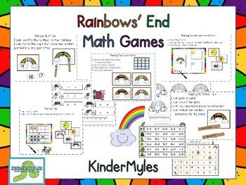 Rainbows End Math Games