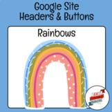 Rainbows - Google Site Template