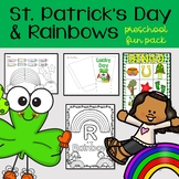 Rainbows and St. Patrick's Day Preschool Party Activities