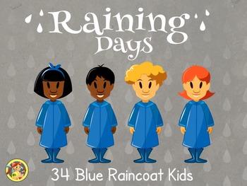 Raincoat Kids- Blue Raincoat Kids