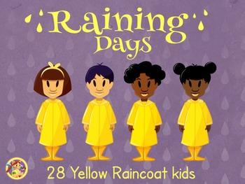 Raincoat Kids- Yellow Raincoat Kids