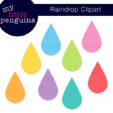 Raindrop Clipart (clip art 300 ppi)